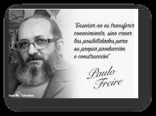 Freire: teoría pedagógica a finales de la década de 1960