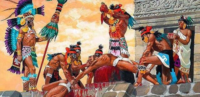 Papel central que tuvieron la guerra y el sacrificio para los mexicas.