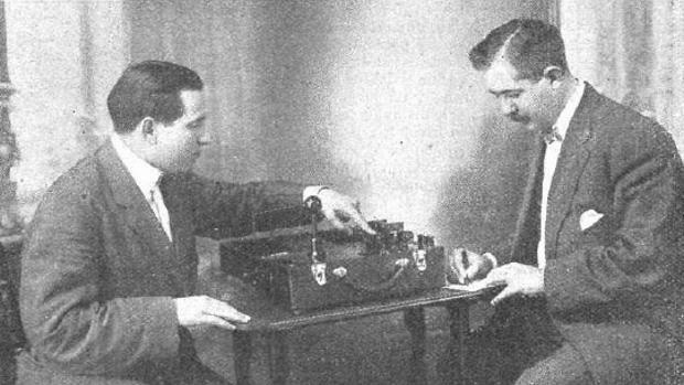Primer aparato portátil de rayos X