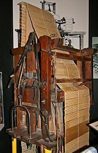 Jacquard inventó su famoso telar