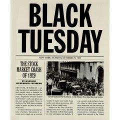 El martes negro