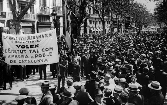 Aprovació de l'Estatut d'Autonomia