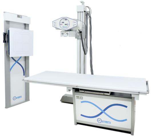 Primer sistema de radiología digital directa