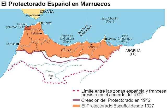 Protectorado de España y Francia sobre Marruecos