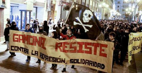 Manifestaciones de apoyo a Gamonal en otras provincias