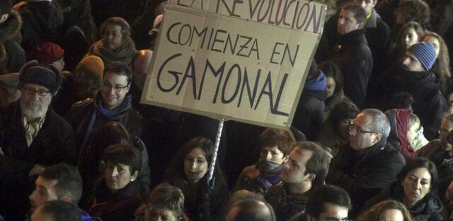 Informe policial relaciona las protestas con movimientos del 15-M