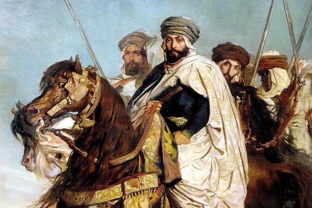 Abderramán III hereda el trono