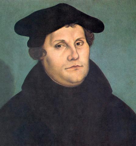 Matí Luter firma 95 tesis contra l'Església.