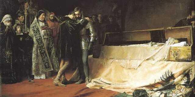 Mort d'Isabel de Portugal