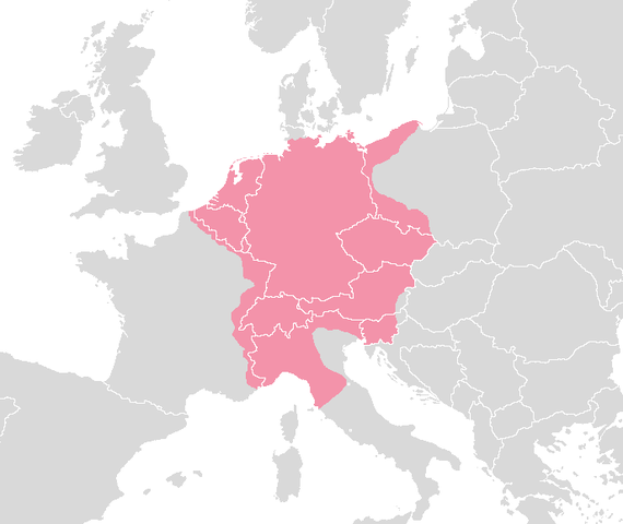 Coronat emperador de l'imperi Sacre