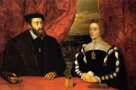 Carles V arriba a Castella