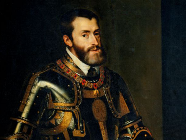 Carles I rep l'Imperi d'Austria a la mort de Maximilià I