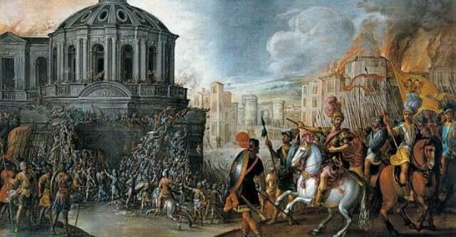 il saco di Roma