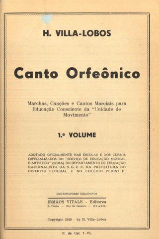 O Canto Orfeônico