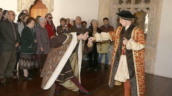 Proclamat rei a Valladolid