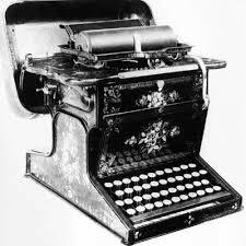 La máquina de escribir de William Austin Burt