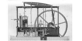 Motor de vapor de James Watt.