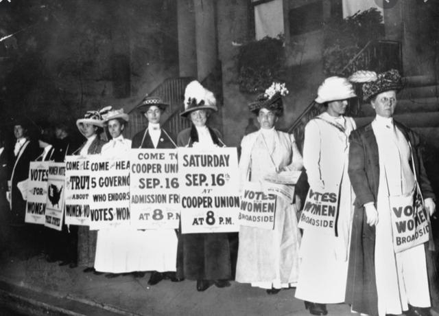 Women get right to vote