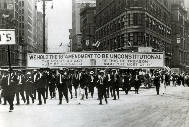 The 18th Amendment is passed