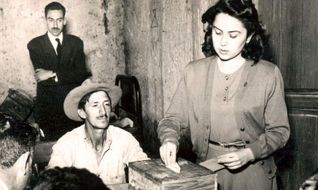 Derecho Voto (Mujer)