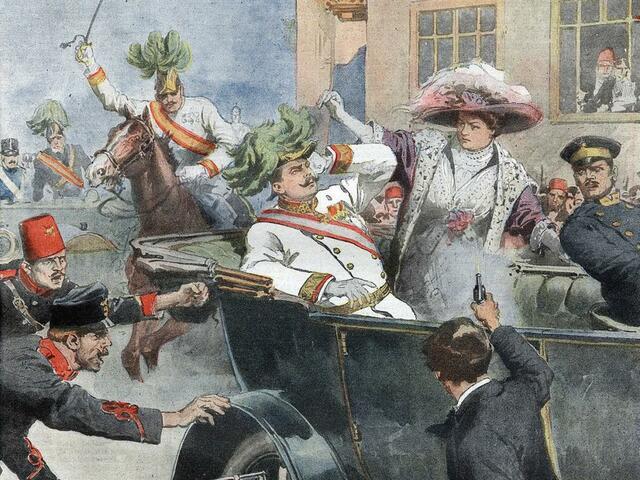 Asesinato del archiduque Francisco Fernando