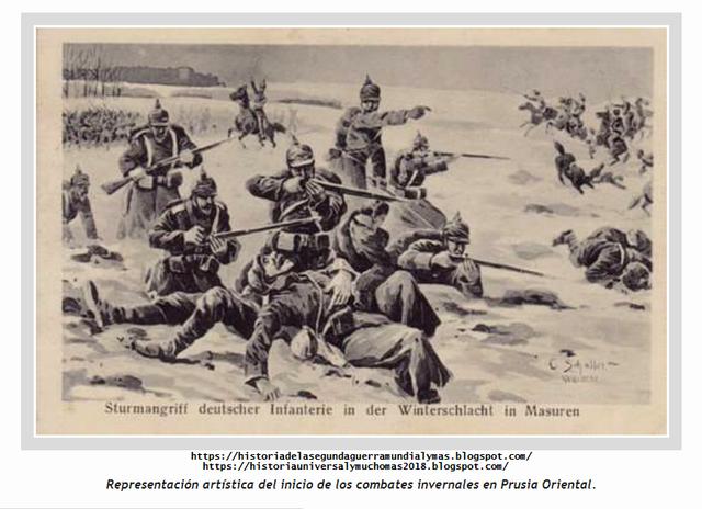 Batalla de Tannenberg y los lagos Marsurianos