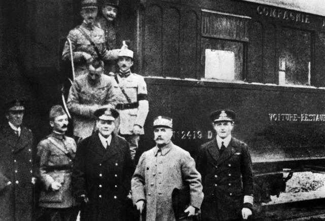 Armisticio entre Alemania y los aliados