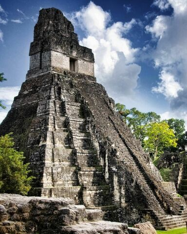 Templo del Gran Jaguar de Tikal