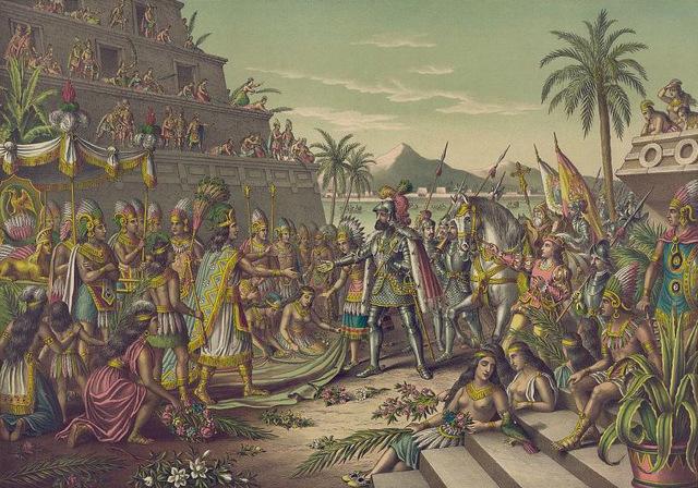 Los conquistadores españoles finalmente subyugaron a Yucatán