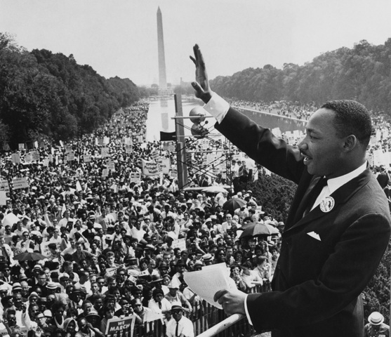 The Martin Luther King Jr. i have a dream speech