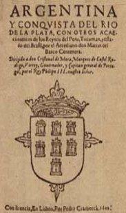 Poema de Martín Barco Centenera