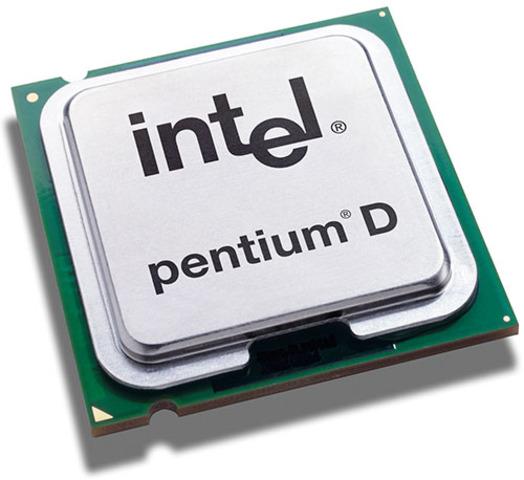 Los procesadores Pentium D fueron introducidos por Intel en el Spring 2005 Intel Developer Forum
