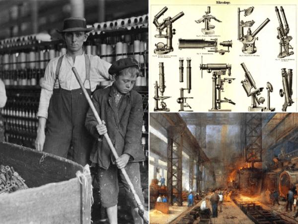 Revolución industrial. Gran Bretaña.