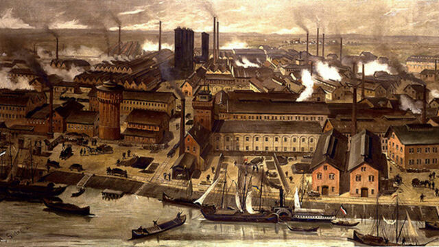Segunda revolución industrial: La primera globalización