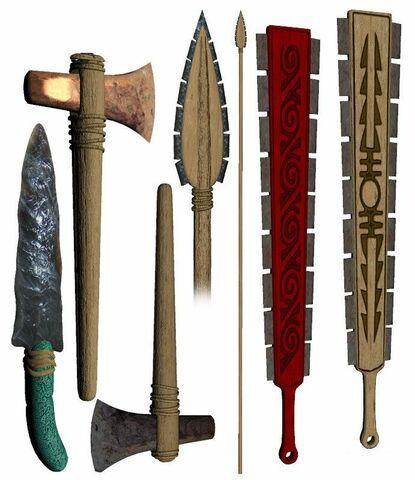 Se introducen los primeros arcos y flechas