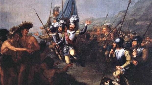 La violencia de la Conquista de Tenochtitlán.