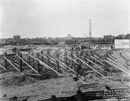 Construction on Yankees Stadium