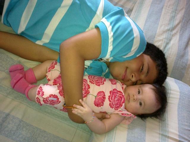 ¡¡Nació mi hermanita!!