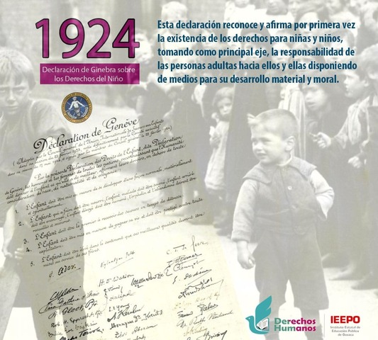 Declaración de ginebra sobre los derechos del niño