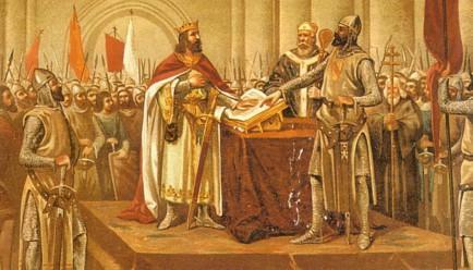 El cid le envia un regalo especial al rey