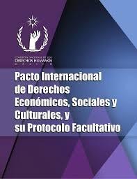 Pacto internacional de derechos económicos , sociales y culturales