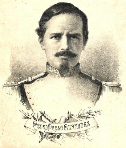 Pedro Bermúdez realiza un reto