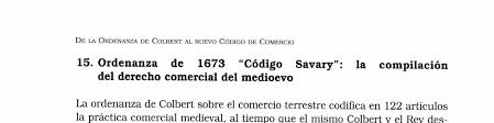 La ordenanza de 1673