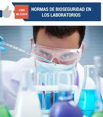 Estados Unidos introdujo las normas de bioseguridad para la adecuada labor en el laboratorio