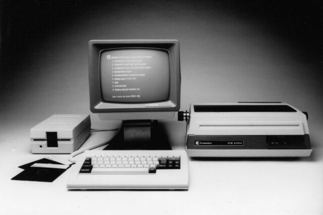 Computador y software de escritorio
