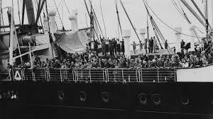 Jews flee the Holocaust