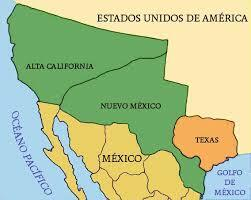 México Pierde la mitad de su Territorio