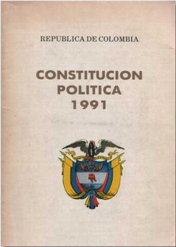Nueva Constitución Política