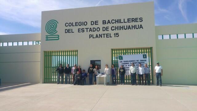 Ingrese al Colegio de Bachilleres