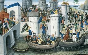 Invasión de las cruzadas de Bizancio